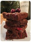 Chocolate Cranberry Zinfandel Brownies