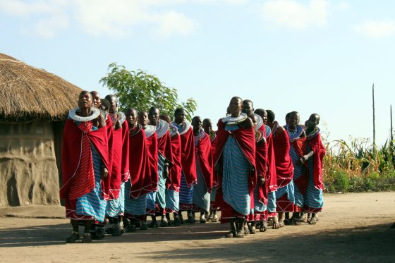 Massai Women