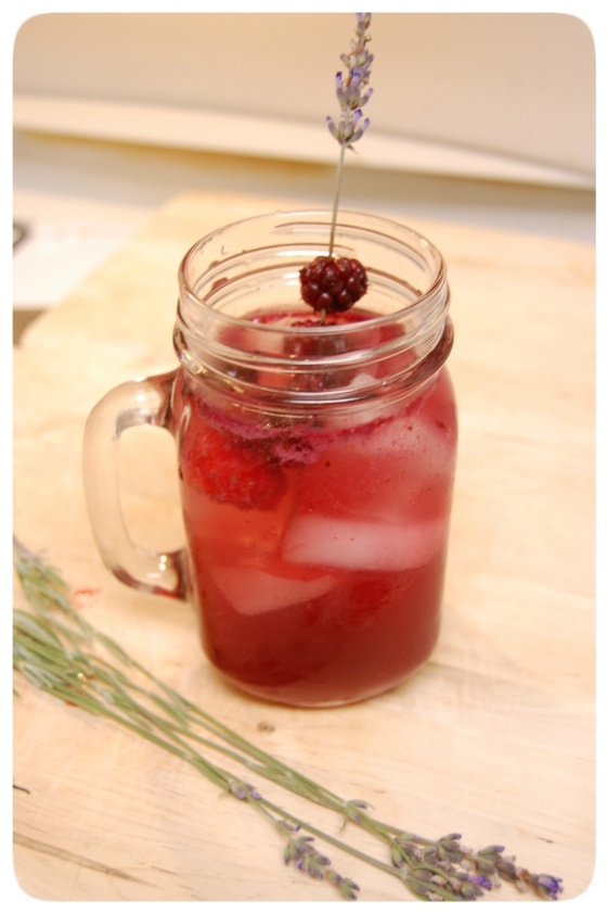 Lavender Mulberry Muddle