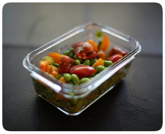 Heirloom Edamame Salad