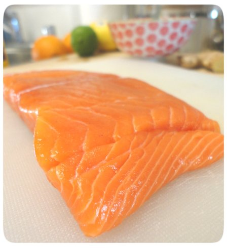 Filet of Wild Alaskan Salmon, Pacific