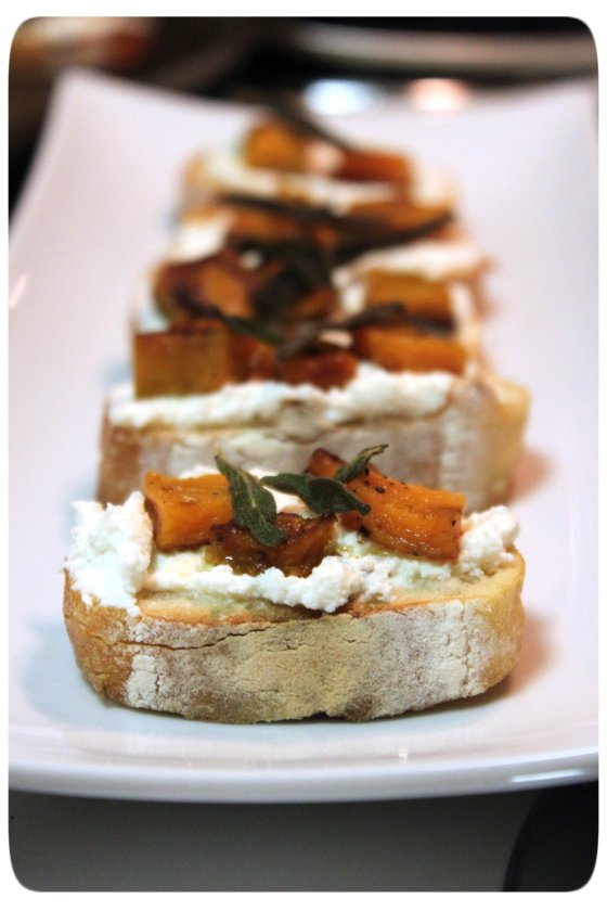 Butternut Crostini