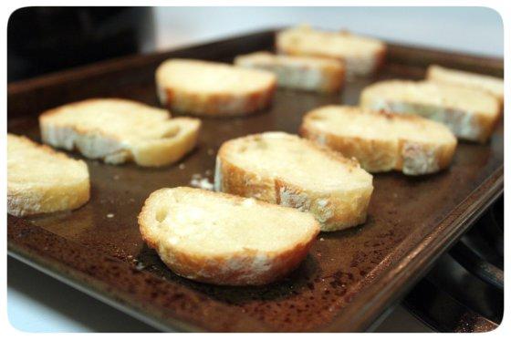 Baking Crostinis