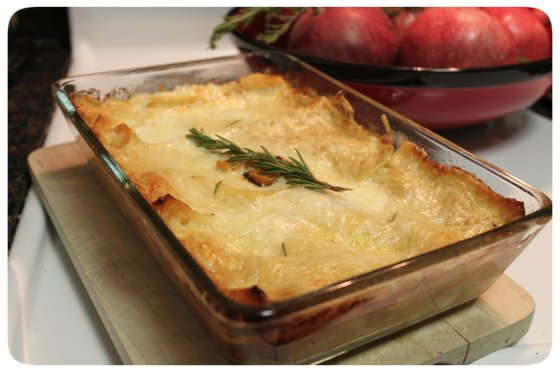 Butternut Sqash Lasagna