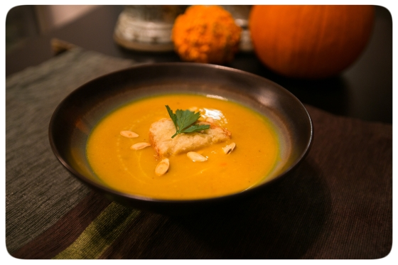 Pumpkin Curry Soup 2