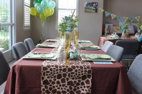 Safari Table Setting