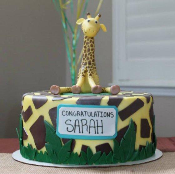 Giraffe Cake | Aprons & Stilettos