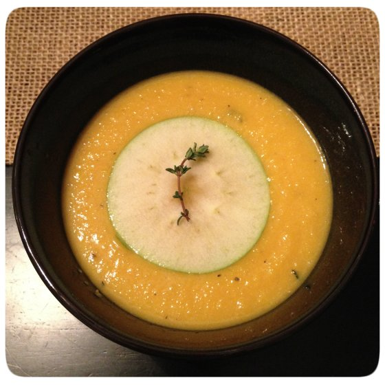 Apple Butternut Soup