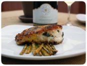 Herb crusted Sea Bass