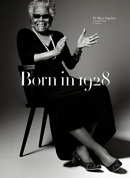 Cole-Haan-Born-in-1928, China & Maya Angelou