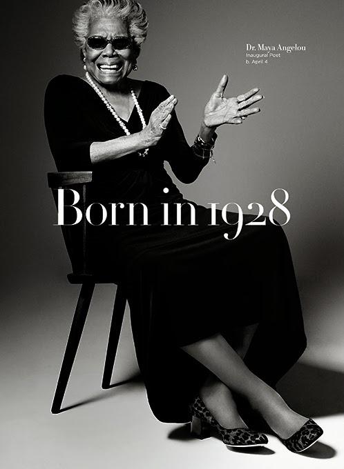 Cole-Haan-Born-in-1928, China & Maya Angelou