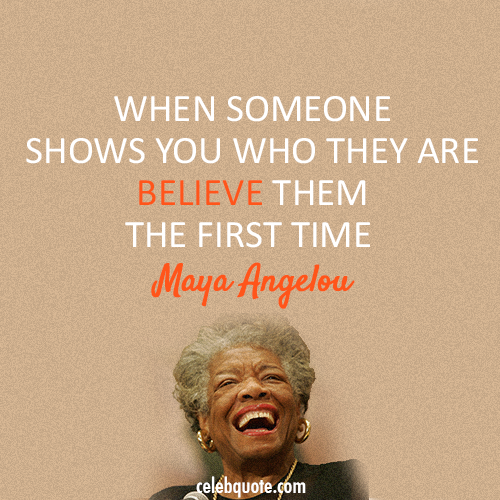 Maya Angelou Quotes And Sayings: Aprons & Stilettos