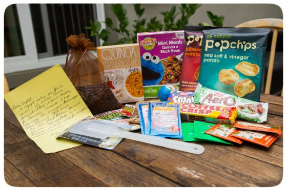 Foodie Pen Pal July