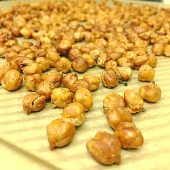Roasted Chickpeas Aprons and Stilettos