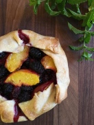 Rustic Mulberry Tartlets