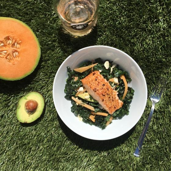 Aprons Kale Salad